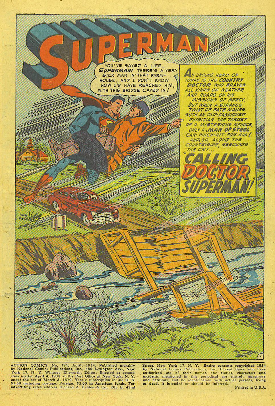 Action Comics (1938) 191 Page 2