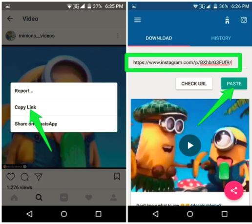 download instagram video by link