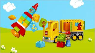 Prueba los juguetes Lego Duplo