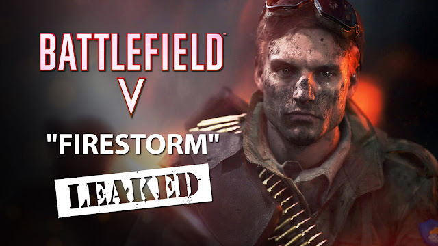 battlefield 5 firestorm battle royale leaked first look