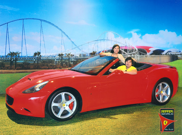 Official Photo at Ferrari World Yas Island Abu Dhabi