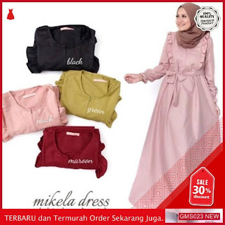 GMS023 KRSRH023G32 Gamis Mikela Dress Balotelli Dropship SK0406863957
