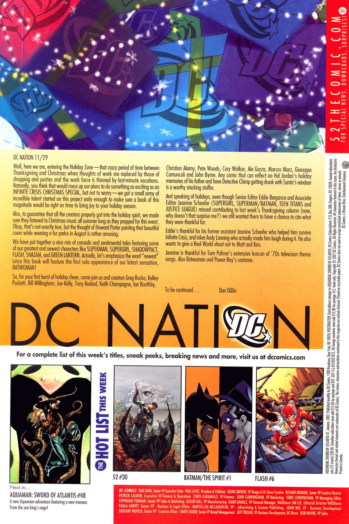 Read online Aquaman: Sword of Atlantis comic -  Issue #47 - 24