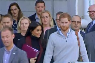 الأمير هاري و زوجته ميغان يتوقعان طفلهما الأول في الربيع