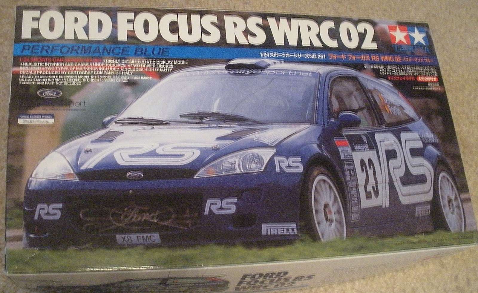 Dave S Modeling Bench Tamiya Ford Focus Rs Wrc 02