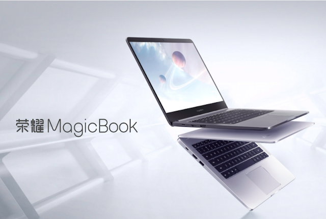Honor MagicBook Running Windows 10 and 8th Gen Intel CPU Officially Launched