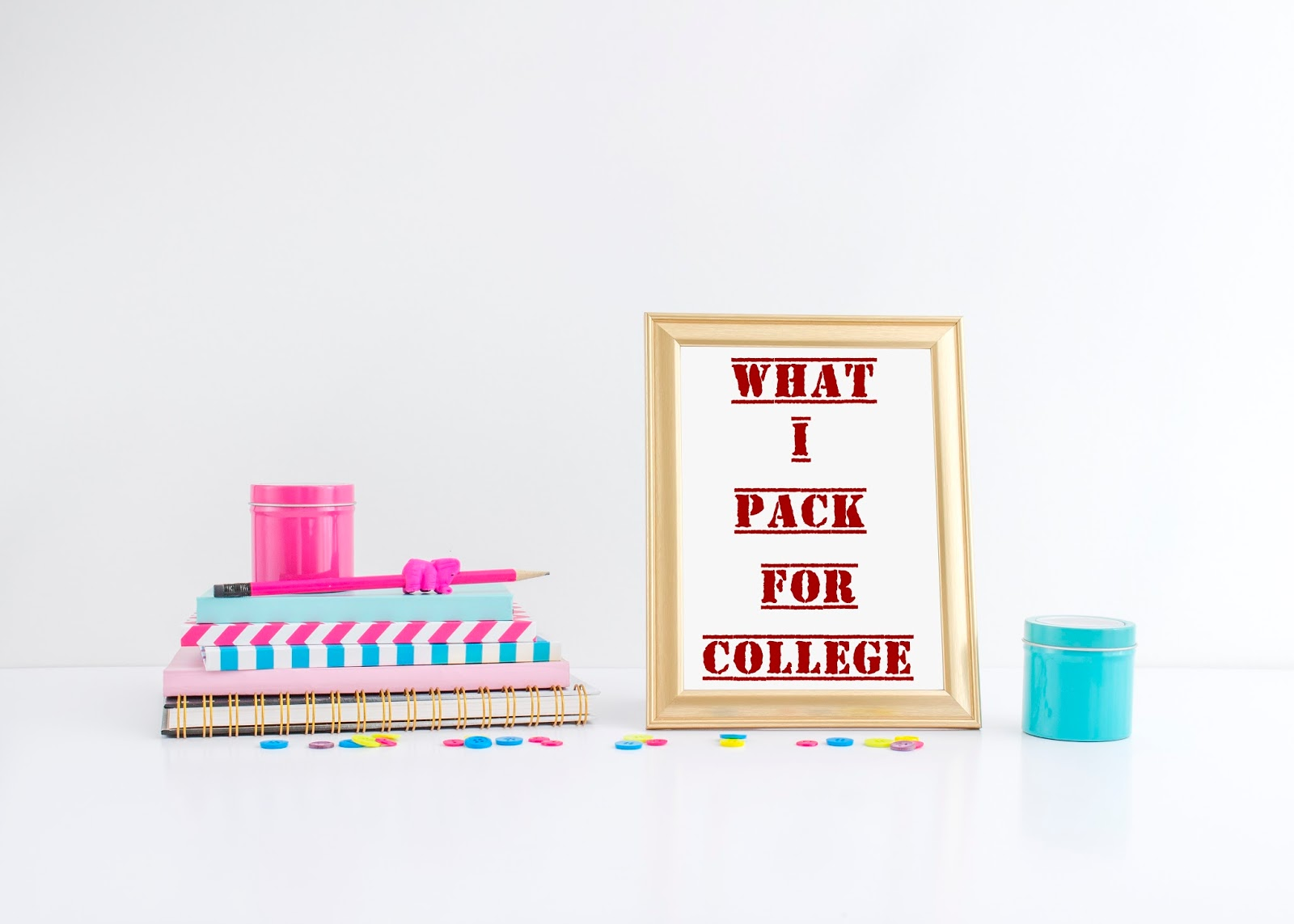 What I Pack for College : COLLEGE ESSENTIALS  | Syahindah Ms