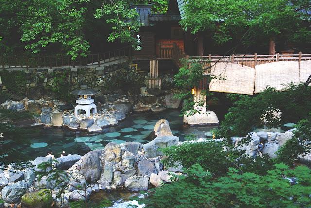 Hot Spring Beppu Japan