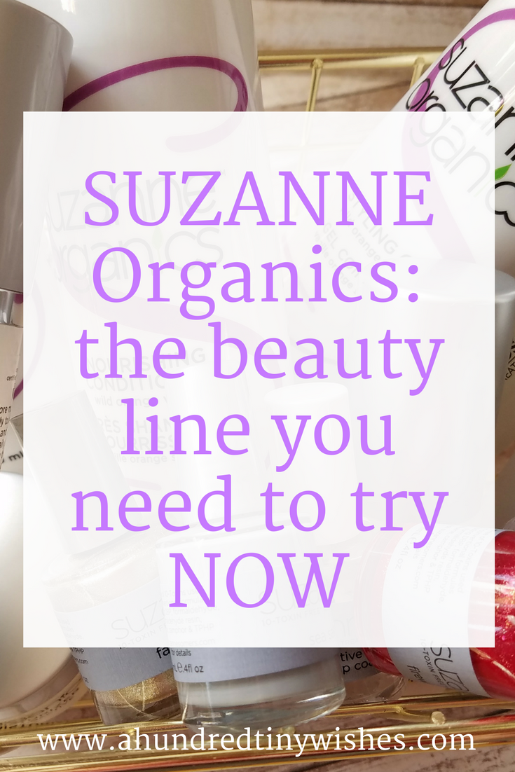 How to up your beauty game with SUZANNE Organics