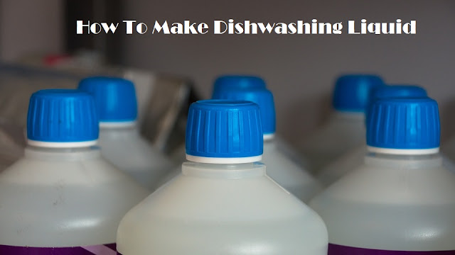 How To Make Dishwashing Liquid