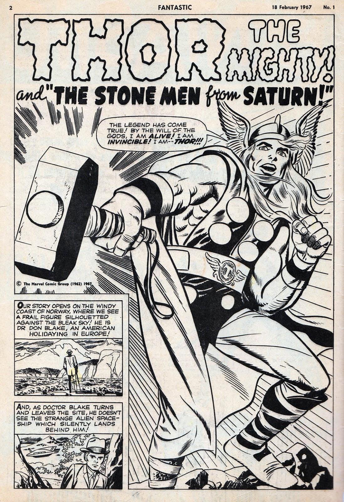 BLIMEY! The Blog of British Comics: FANTASTIC 50th!