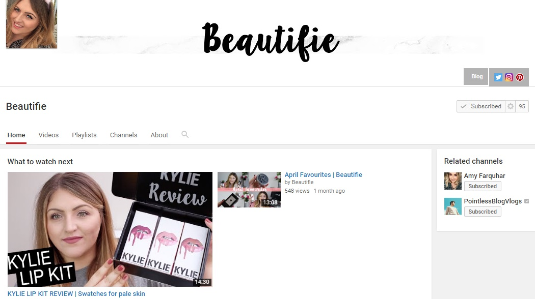 Beautifie YouTube