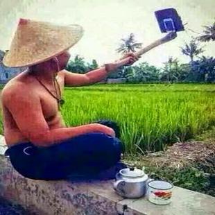 Gambar dp bbm foto selfie apa adanya