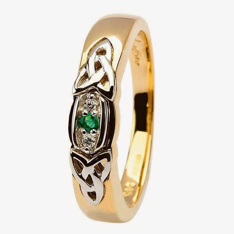 celtic diamond wedding rings