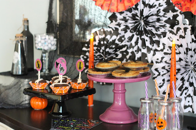 Kids Halloween Party Desserts AK Party Studio