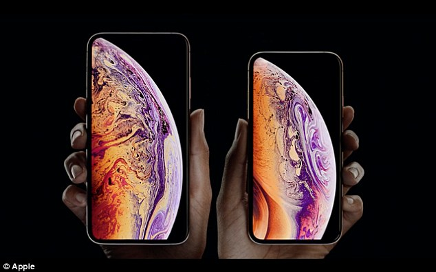'The most advanced iPhone we have ever created': Apple finally unveils its waterproof $1,799 iPhone XS Max