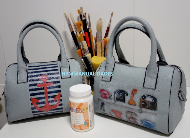 decorar-bolso-con-decoupage