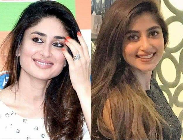 Sajal Ali looks  like Kareena kapoor