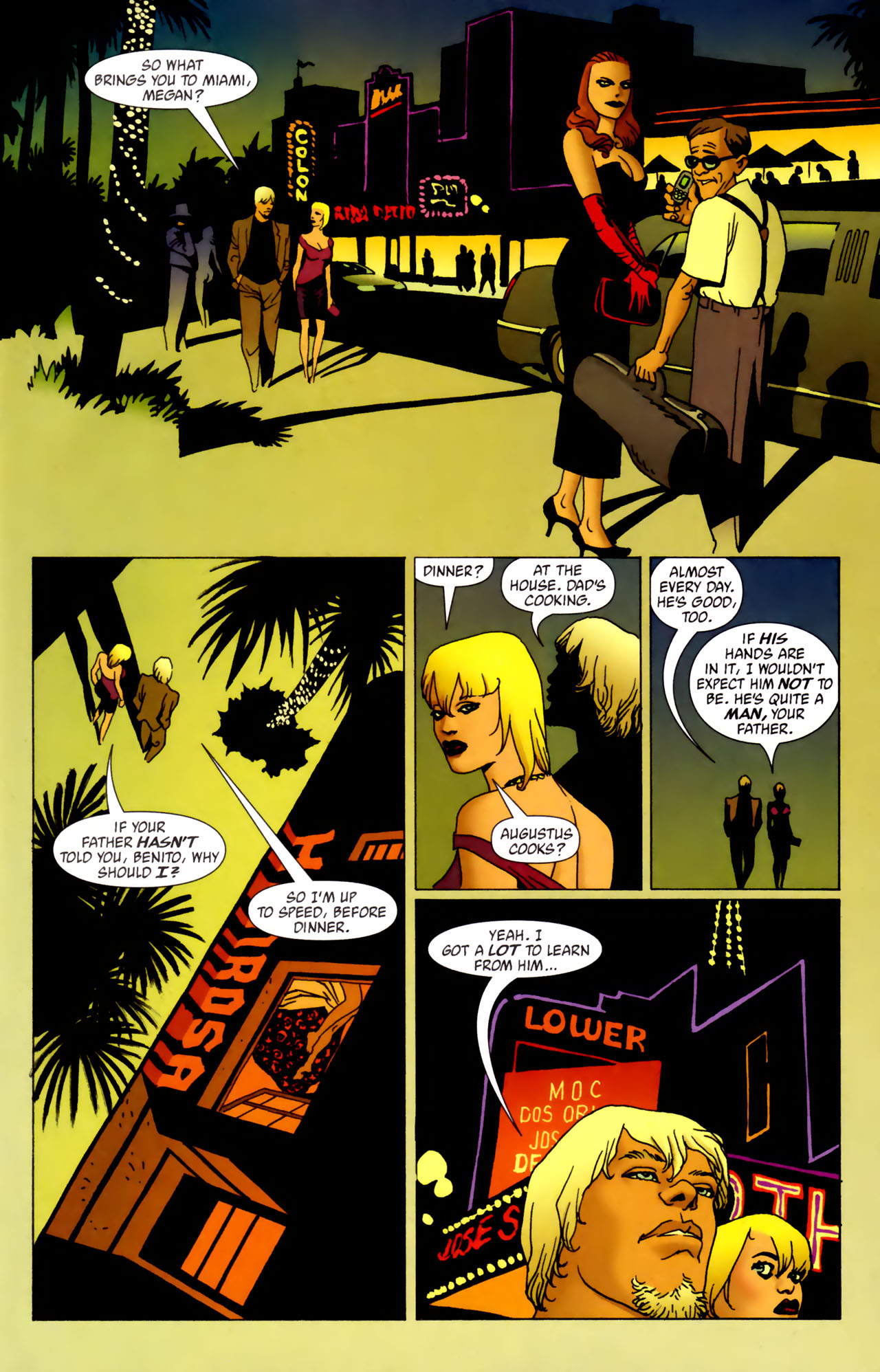 Read online 100 Bullets comic -  Issue #61 - 9