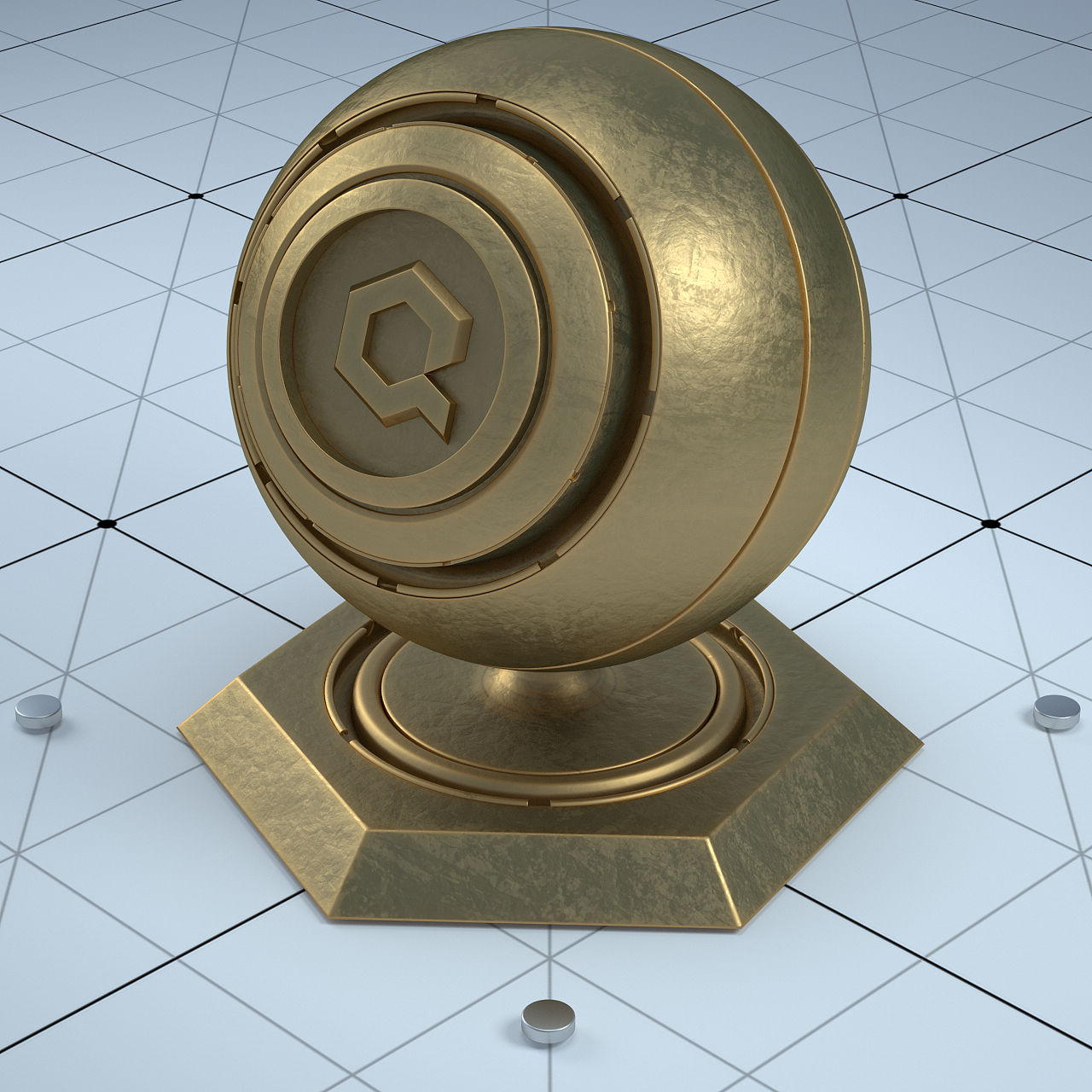 Free Download a Pack of Octane Materials by Mohamed Daoui