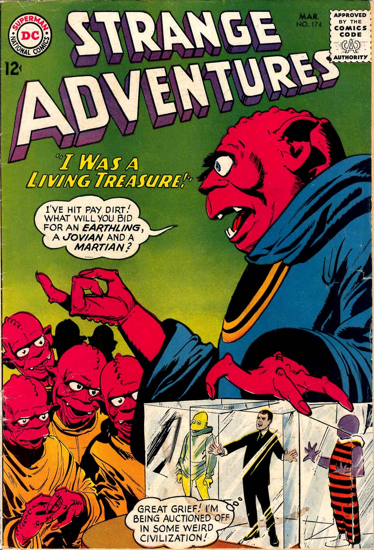 Strange Adventures (1950) issue 174 - Page 1