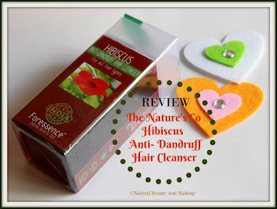 The Nature's Co Hibiscus Anti Dandruff Hair Cleanser Review