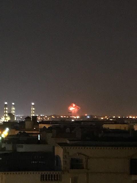 صور انفجار مطار القاهرة الدولي 2018