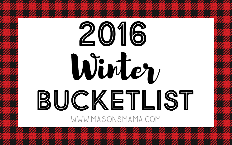 Hall Around Texas 2016 Winter Bucketlist