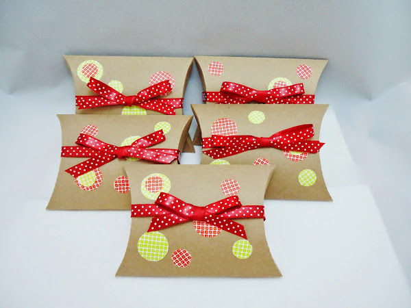 Kraft Pillow Gift Box