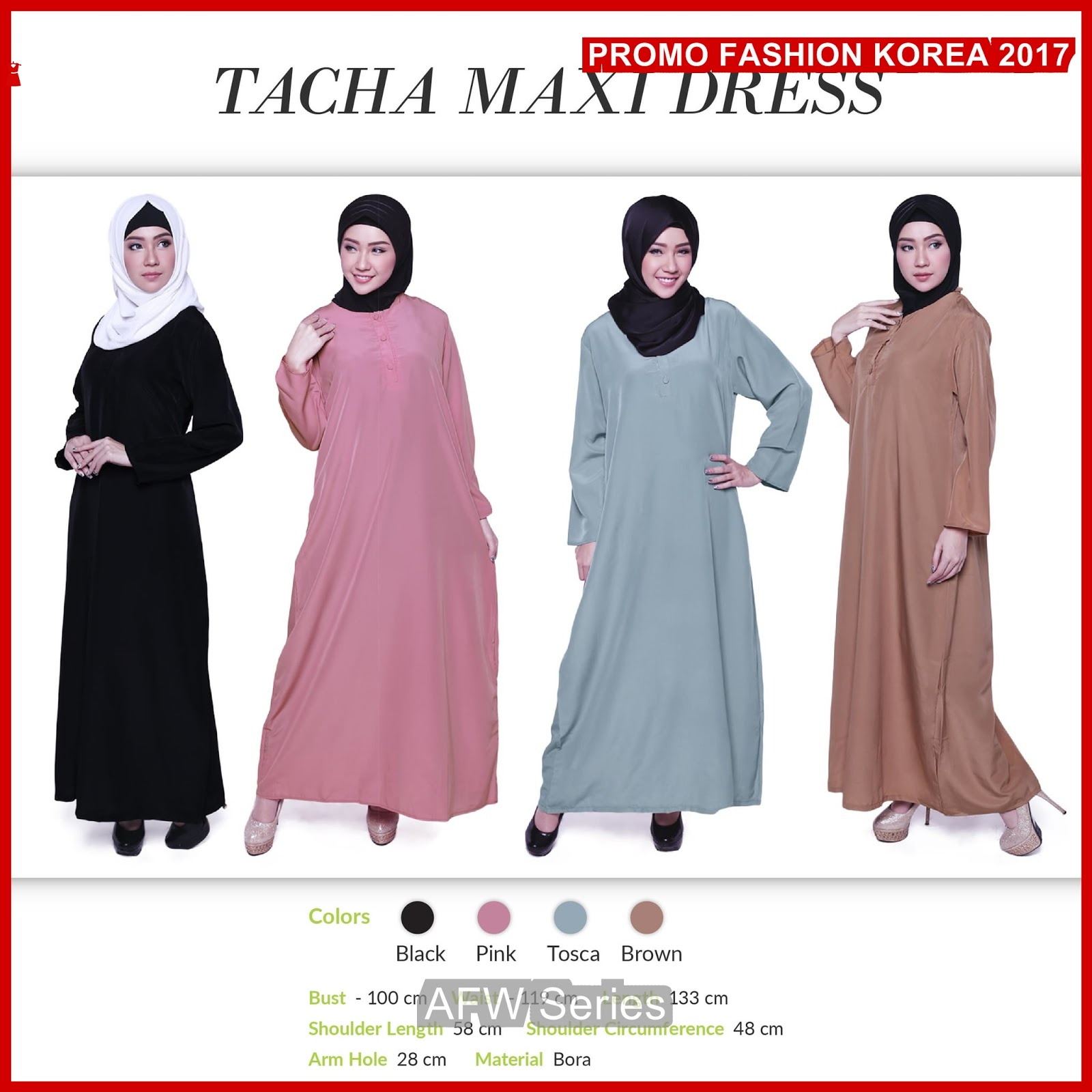 BAMFGW143 LIMITED Maxi Dress Wanita PROMO BMG