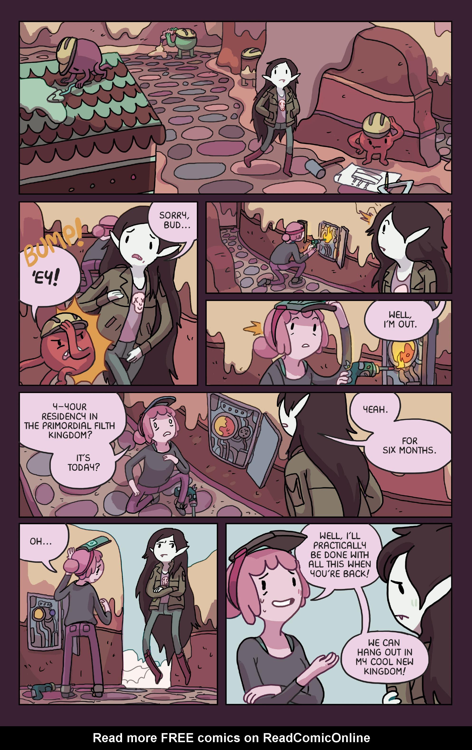 Read online Adventure Time: Marceline Gone Adrift comic -  Issue #4 - 3