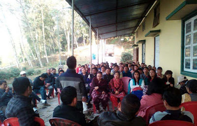 Cinchona Helper Sangathan meeting in mungpoo