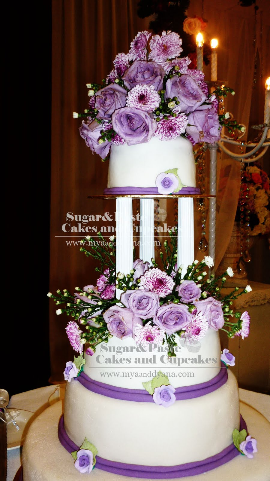 violet bakery wedding cakes pictures sugar amp paste cakes and cupcakes fresh violet wedding cake 21622