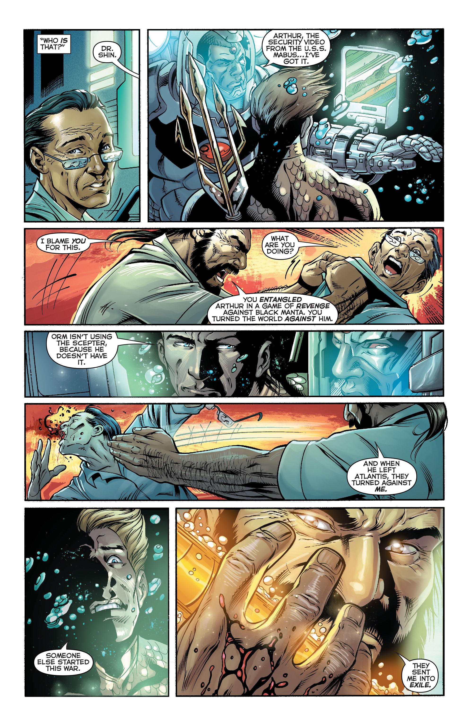Read online Aquaman (2011) comic -  Issue #16 - 20