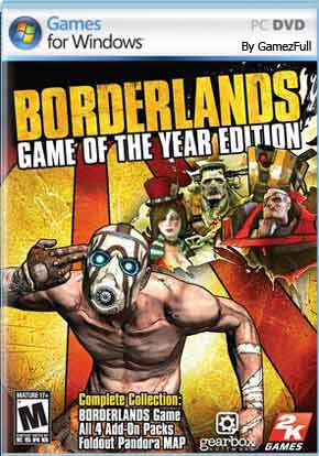 Borderlands Game of the Year Edition PC [Full] Español [MEGA]
