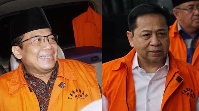 DPR Ukir Sejarah: Ketua dan Wakil Ketua Jadi Tersangka KPK