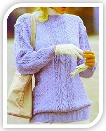 uzori spicami dlya pulovera (15)
