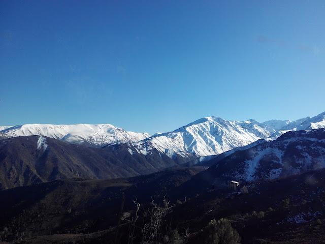 Hacia El Colorado Santiago Chile