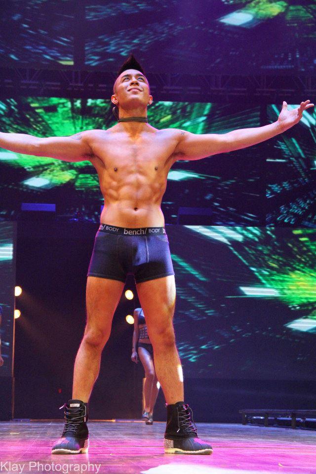 Kris Lawrence Underwear Bulge Bench Universe by Klay Tan