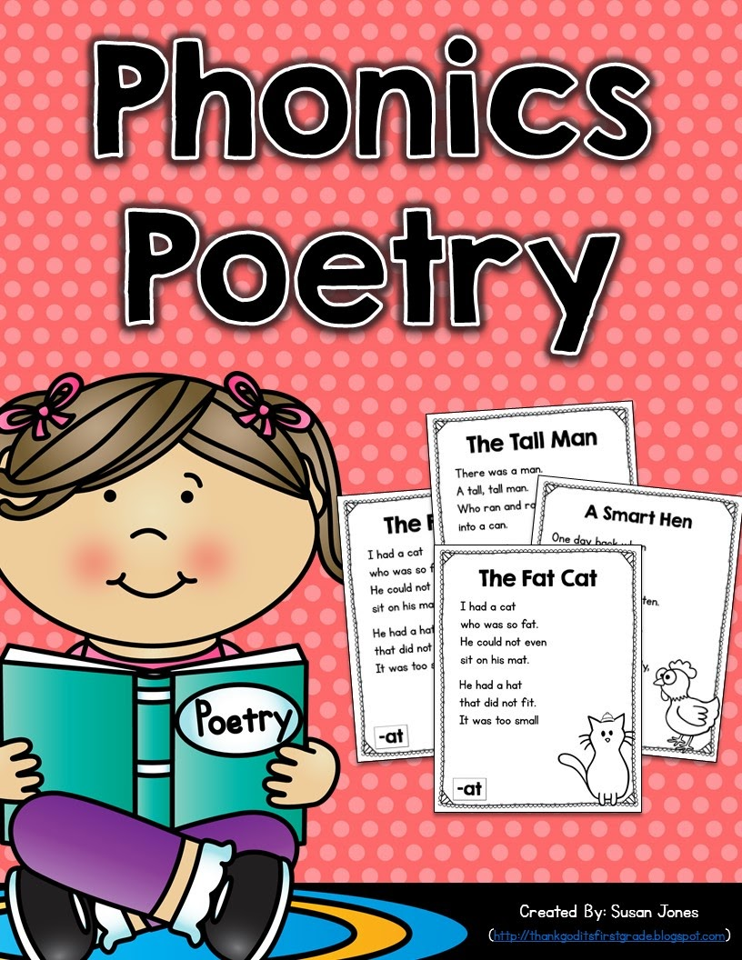 phonics poetry for grades k 2 thank god it 39 s first grade. Black Bedroom Furniture Sets. Home Design Ideas