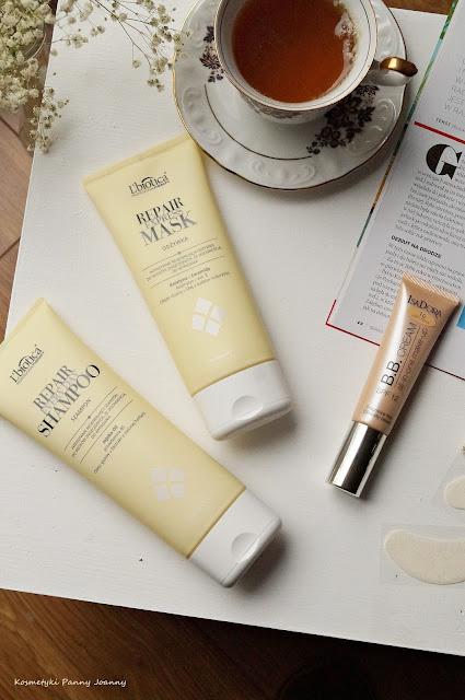 szampon i odżywka  L'Biotica Professional Therapy Repair