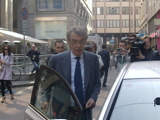 Moratti is a billionaire businessman who made his fortune from the family's energy company, Saras