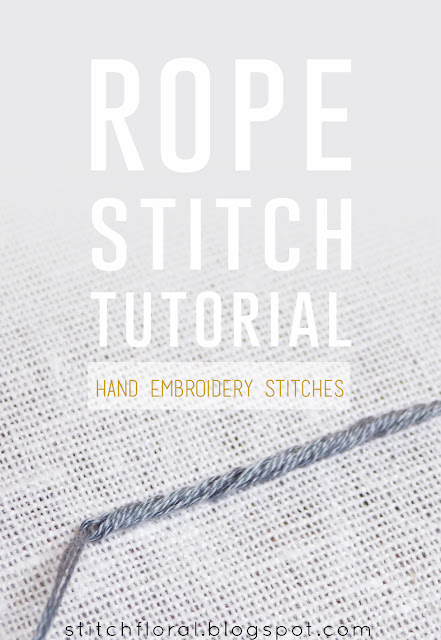 Rope stitch How-To