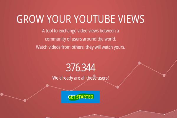 زيادة مشاهدات اليوتيوب بسهولة وبطريقة شرعية 100%