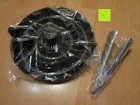 Plastiktüten: Nussknacker Set Cheops Nussknacker mit 3 Schalen Kunststoff 19x8,5x7cm