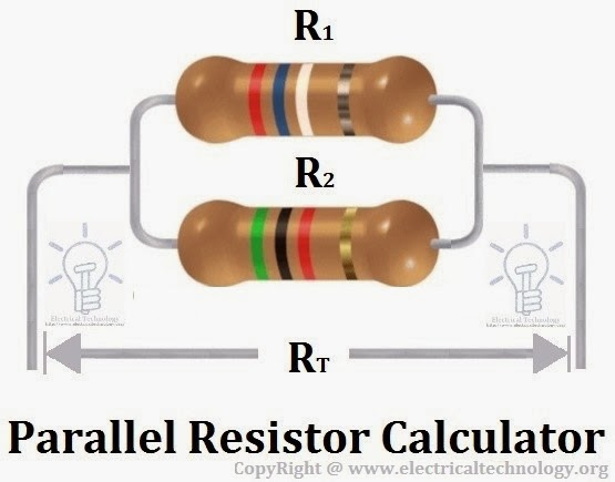 Parallel Resistor Calculator Electrical Technology