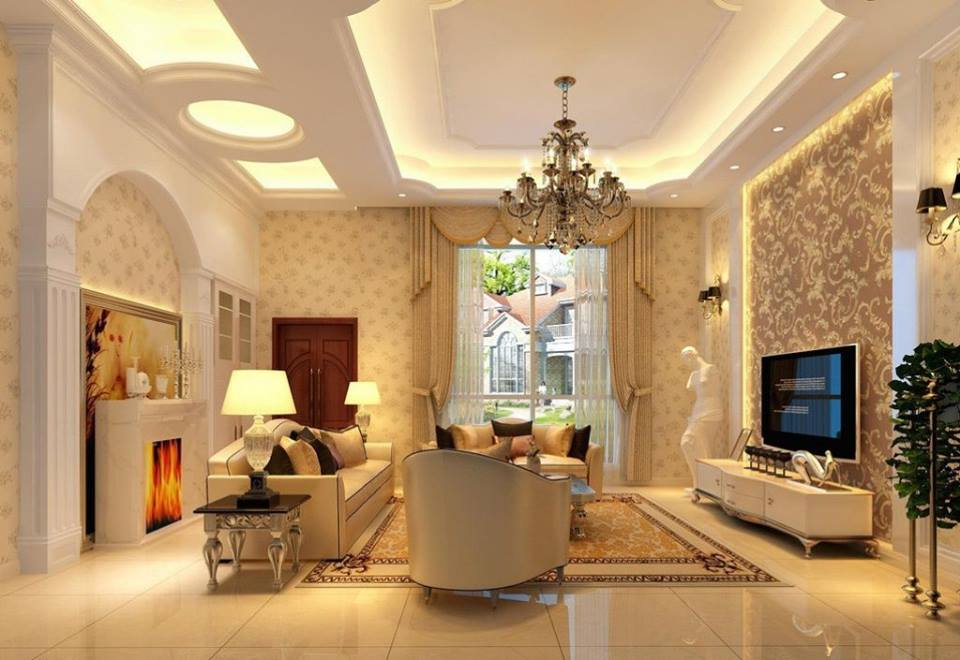 Living Room False Ceiling Design 2016 Western Style Sets Arabic Ideas To Inspire Your Next ...
