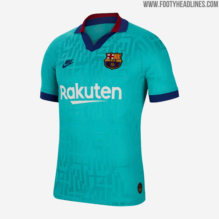 sports shoes ea3a2 6ca20 Barcelona 19-20 Third Kit Released - Footy Headlines