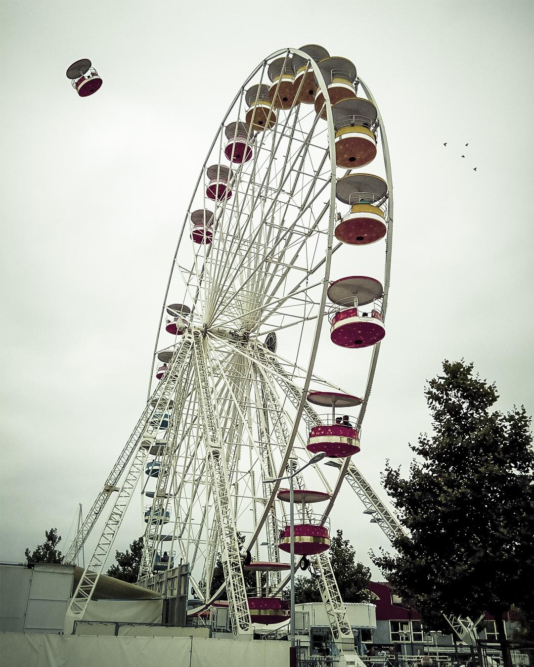 La Rochelle, Grande roue, Photomontage