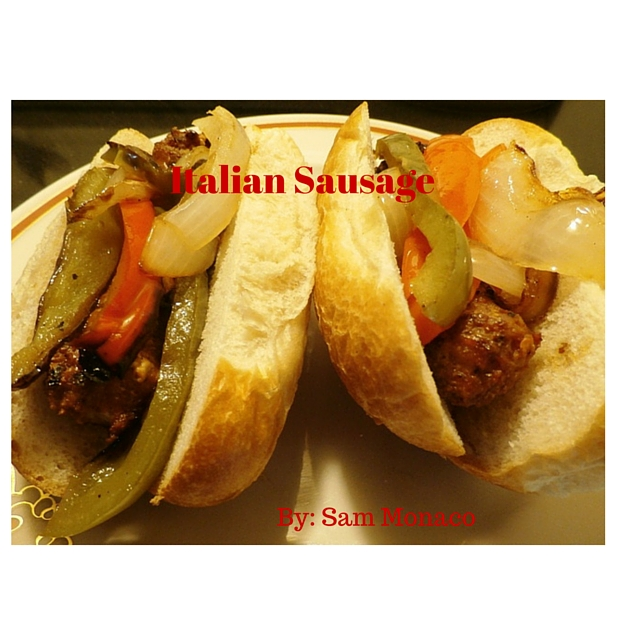 Grilled Italian Sausage Sandwiches